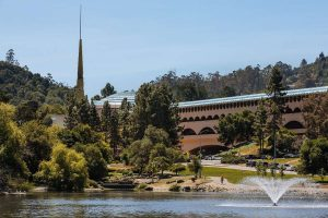 The Frank Lloyd Wright-designed Marin County Civic Center photographed in San Rafael, Calif., Friday, May 11, 2018.Mason Trinca / Special to The Chronicle