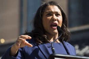 Mayor London Breed on Thursday announced the launch of a program that will provide artists with a guaranteed basic income. (Kevin N. Hume/S.F. Examiner)
