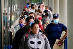 Guaranteed income helps stabilize people during difficult times such as during a pandemic. Bryan Woolston/Reuters