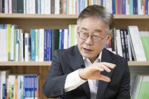 Image: Gyeonggi Province Governor Lee Jaemyung