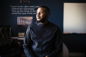 Michael Tubbs, the former mayor of Stockton, California, is a leading advocate for guaranteed income. Nick Otto/AFP via Getty Images