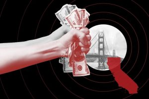 Local politicians, philanthropists, and activists are coalescing around a new clarion call: Give people money. (Photo credit: fridhelm/ gothamcity/ Shutterstock/ Grace Z. Li)
