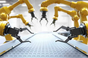 The International Federation of Robotics says that U.S. sales of industrial robots increased by 7 percent in 2020. GETTY IMAGES