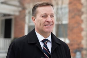Bryan Brulotte, who is entering the leadership race for the Conservative Party of Canada, is shown in Ottawa, on Sunday, Jan. 5, 2020. (THE CANADIAN PRESS / Justin Tang)