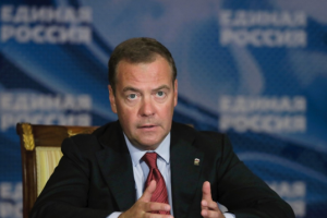 Dmitry Anatolyevich Medvedev is serving as Deputy Chairman of the Security Council of Russia
