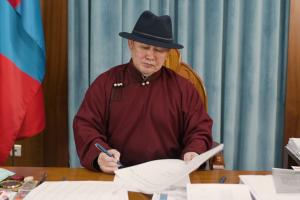 Office of the President of Mongolia Battulga Khaltmaa issued a press release that the Mongolian President sent an official letter to Prime Minister Oyun-Erdene Luvsannamsrai the same day.