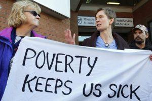Poverty keeps us sick